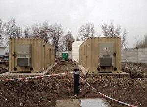 WaterPod containerized drinking water treatment