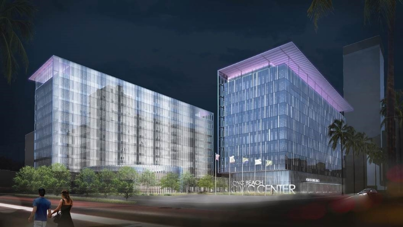Public-private partnership used to fund Long Beach Civic Center Project