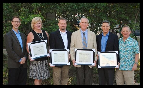 Left to right: Ethan Rogers, ACEEE; Jennifer Eskil, Bonneville Power Administrat