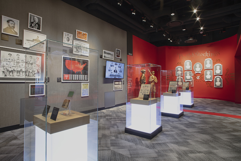 Reds hall of fame and museum