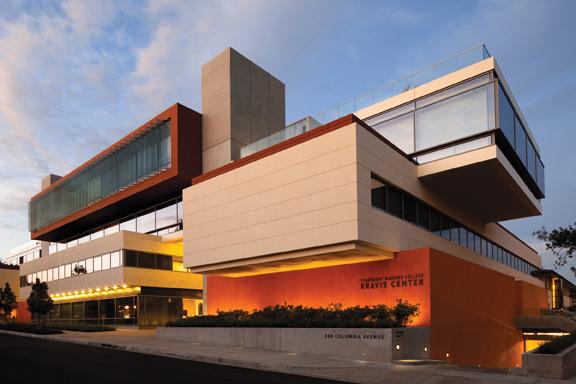 The Kravis Center at Claremont-McKenna College in Claremont, Calif. The 169,000-