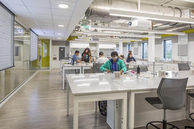 Cousins Center interior laboratory space