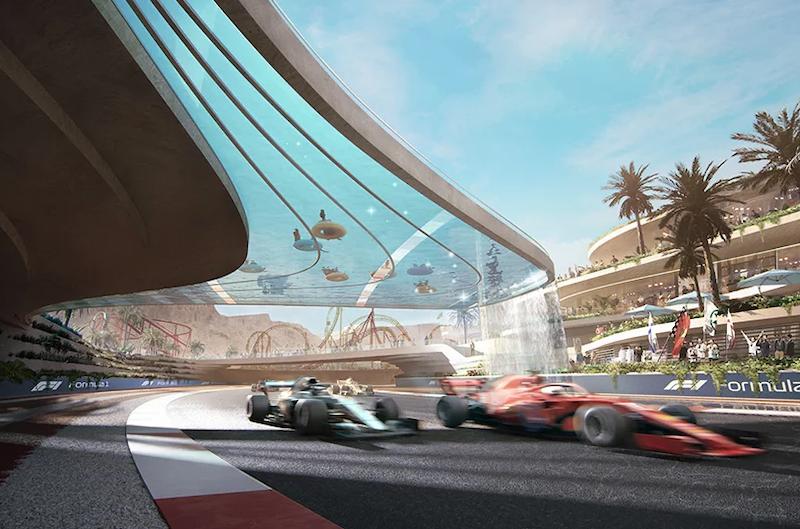 Qiddiya motorsports track