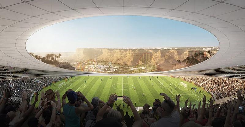 Qiddiya stadium
