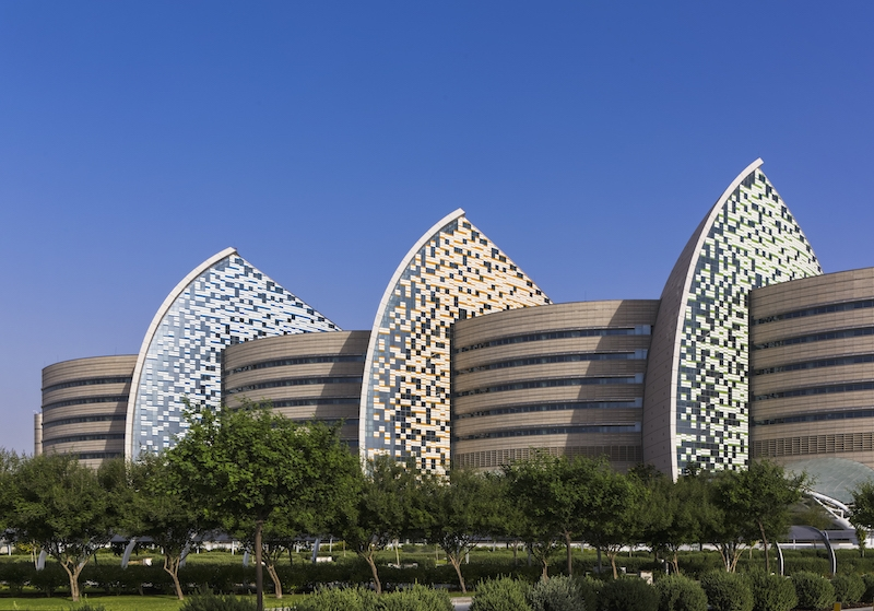 A new hospital in Qatar reflects local culture in its design