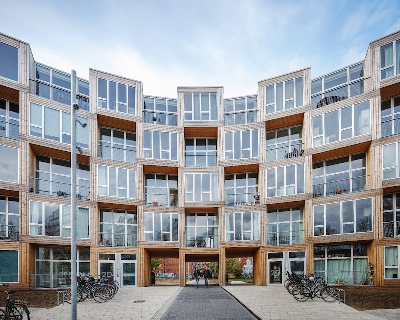 Bjarke Ingels Group creates 66 homes for low-income citizens