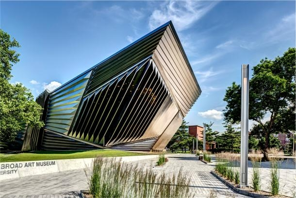 Eli and Edythe Broad Art Museum, East Lansing, Mich. Photo credit: Justin Macono