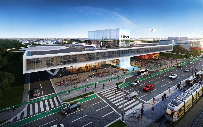 Video: Humphreys & Partners presents its design vision for Uber Air Skyport