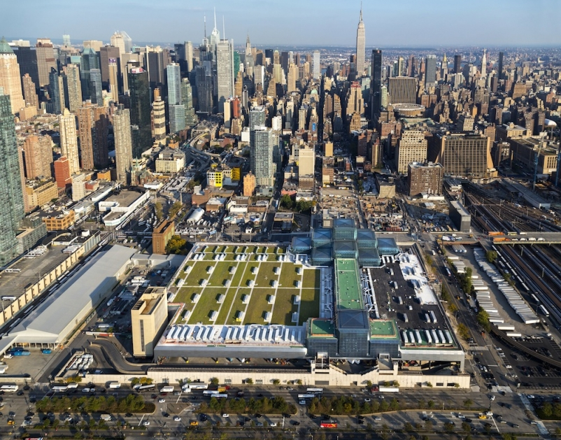 With the renovation, the Javits Center now has the largest green roof in the Nor