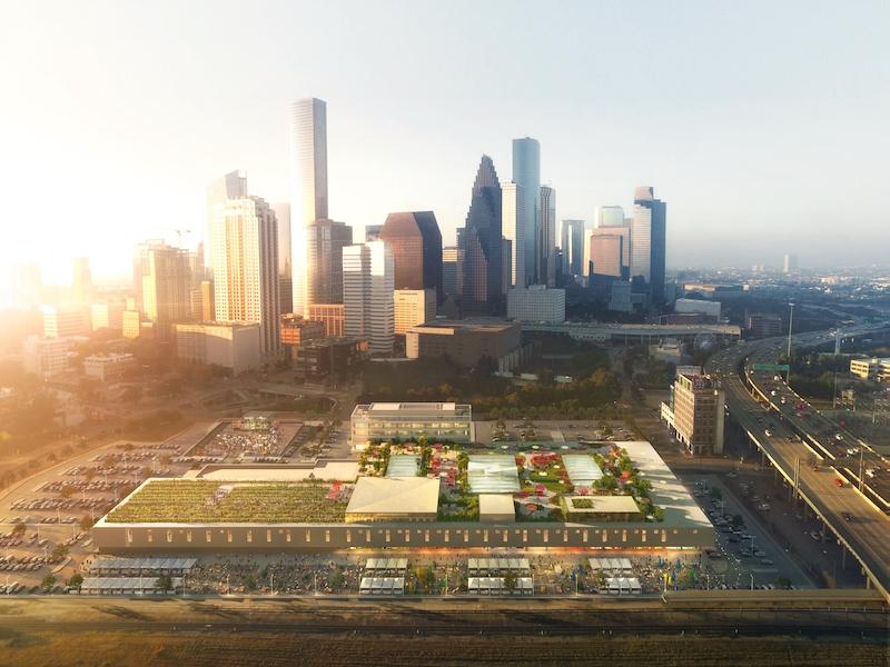 POST Houston aerial view