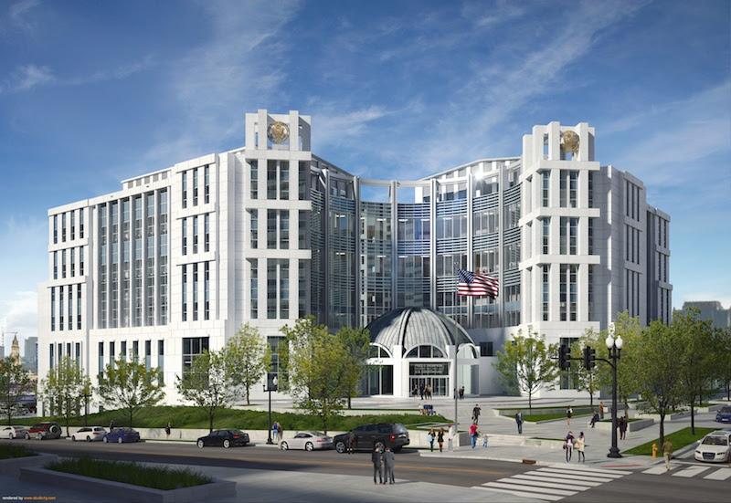Rendering of Nashville U.S. Courthouse