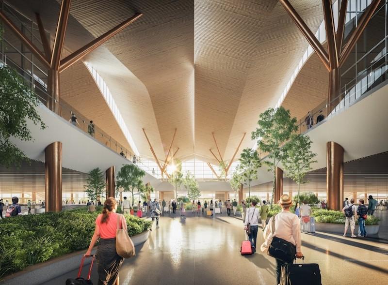 PIttsburgh International Airport interior