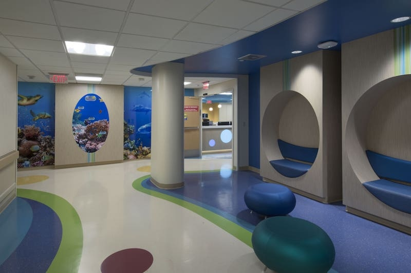 Nautical theme at Salah Foundation Children's Hospital