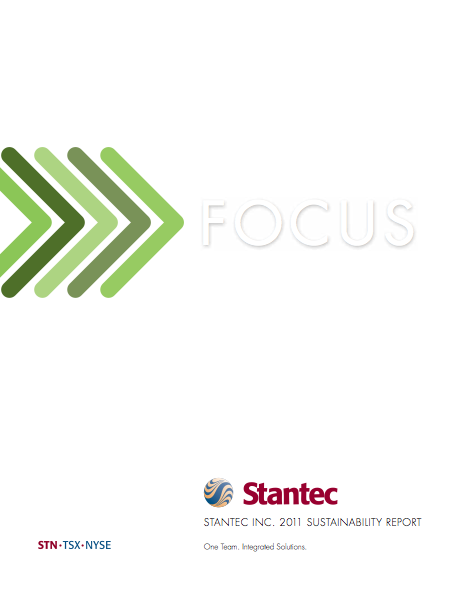 Stantecs 2011 Sustainability Report outlines its performance towards environmen