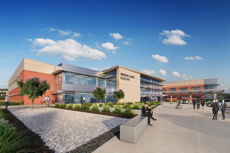 Sheppard Air Force Base's new Medical/Dental Clinic in Wichita Falls, Texas
