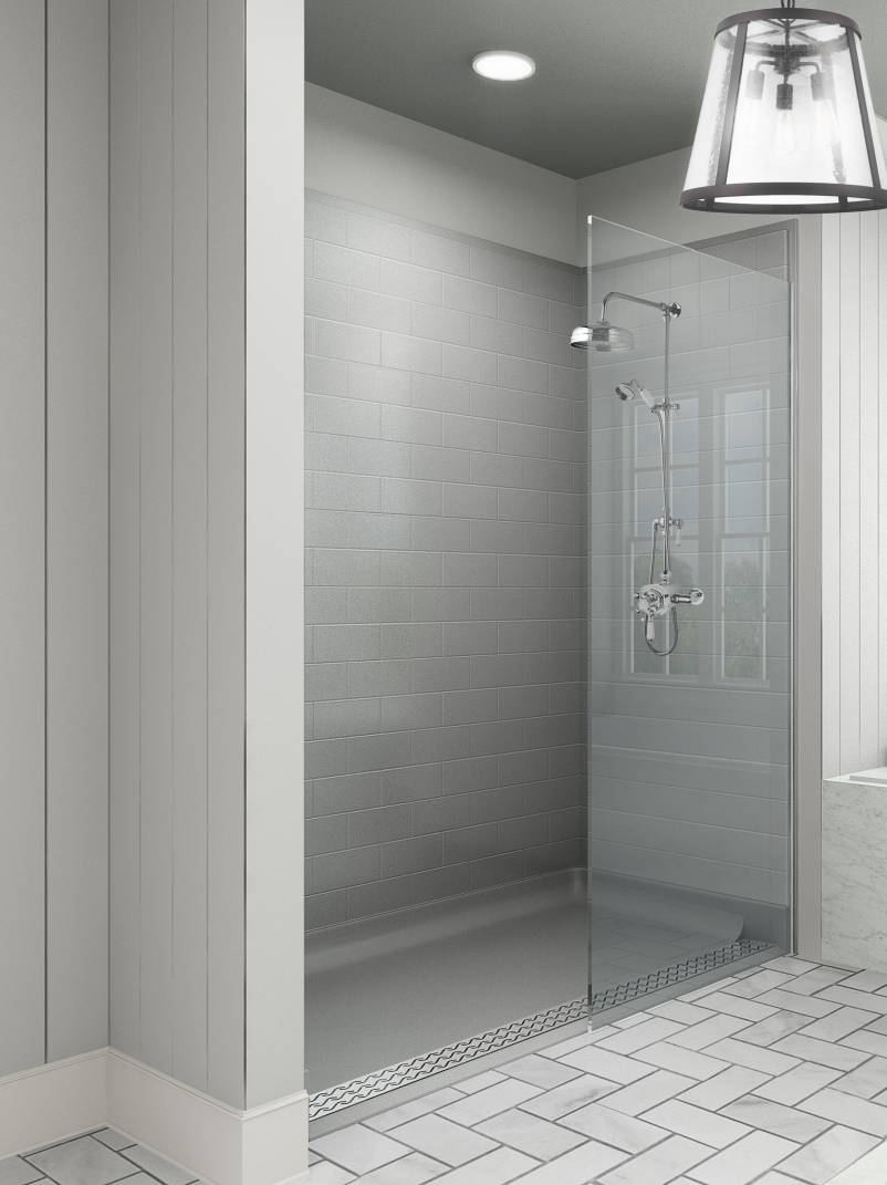 Linear drains offer modern look, simplified accessibility