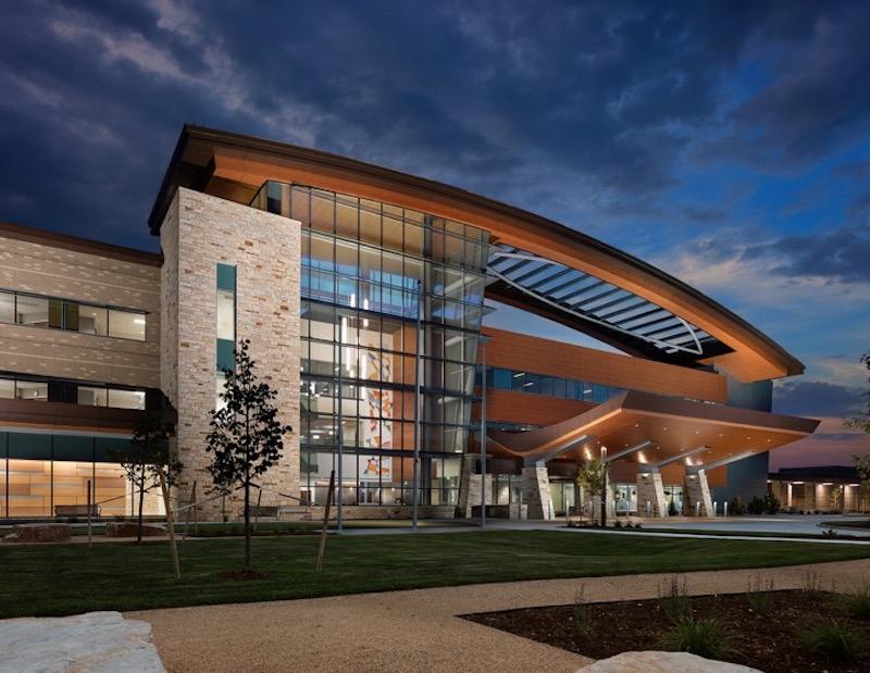 The exterior of the new UCHealth Longs Peak Hospital