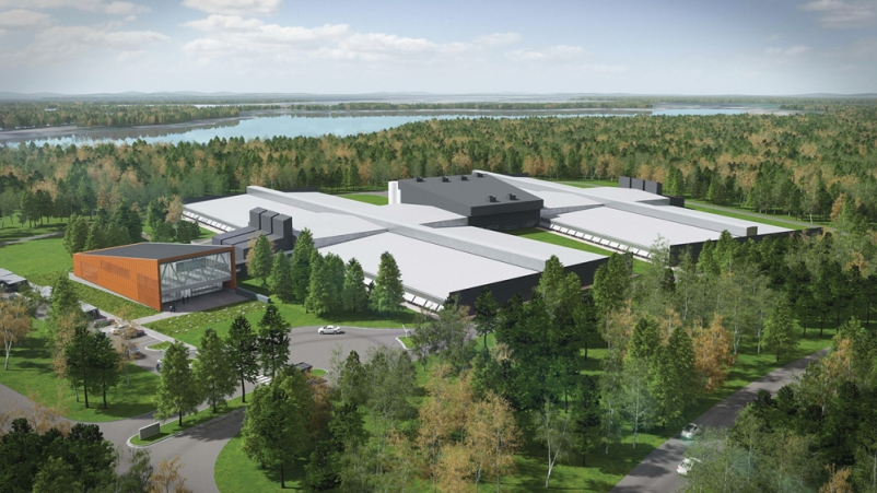 In May, Facebook broke ground on an expansion to its data center campus in Lule