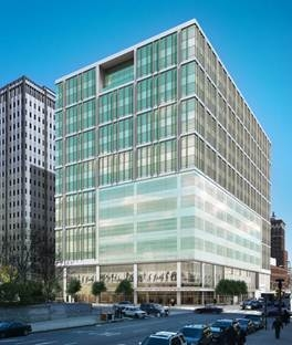 The new Philadelphia Family Courthouse for the Pennsylvania Department of Genera