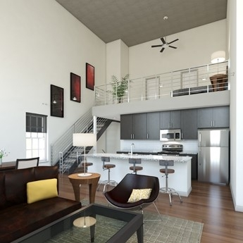Luxury apartments with lofts