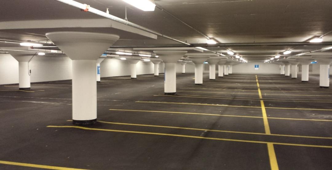 Massive Chicago parking garage gets overdue waterproofing maggie daley