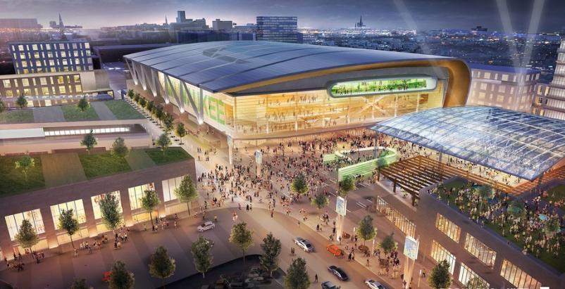 Design for new Milwaukee Bucks stadium is 'modest and modernist'
