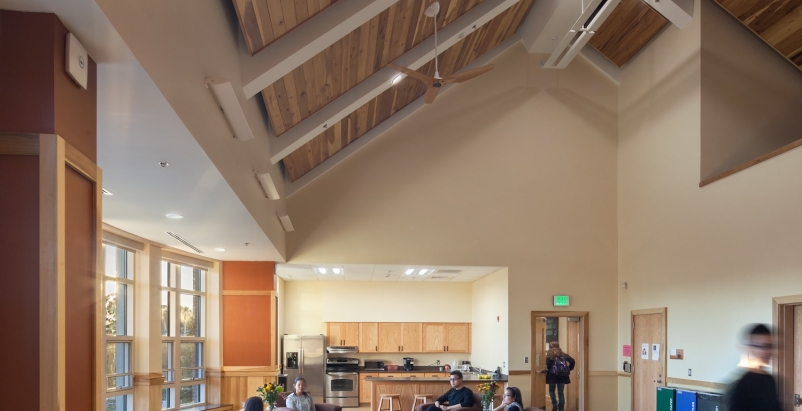 Berea Colleges Deep Green residence hall, designed by Hastings+Chivetta Archi