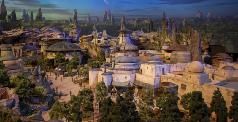 Galxy's Edge theme park