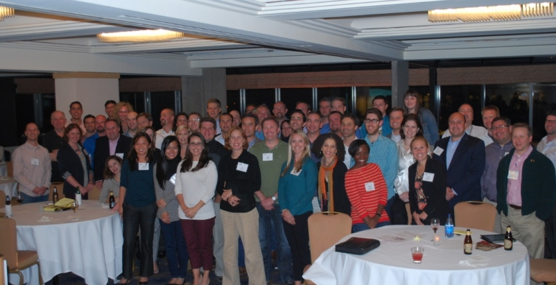 U40 Summit participants gathered for a group photo at the conclusion of the Visi