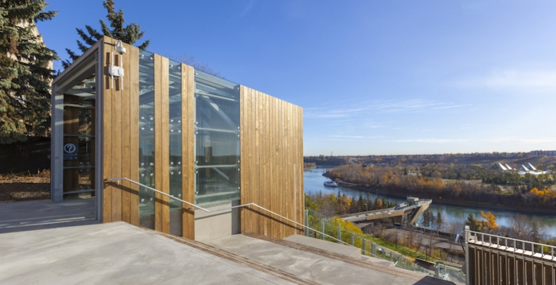 The new Edmonton Funicular