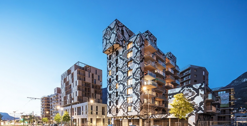 Grenoble, France's new mixed-use python building