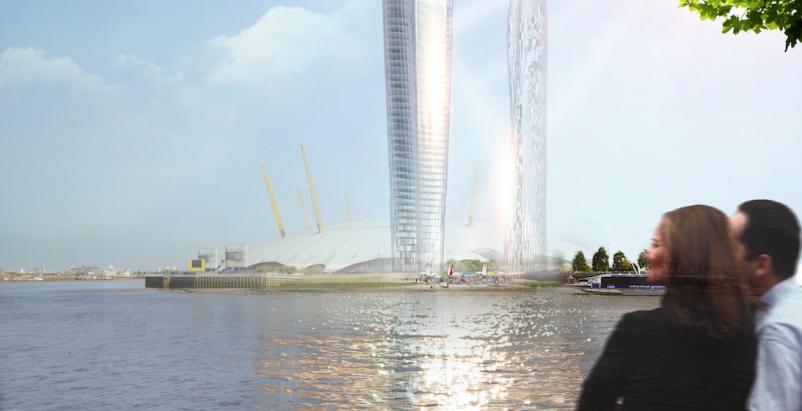 London's 'shadowless' towers