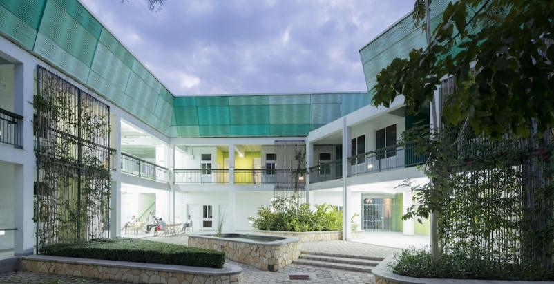Best of healthcare design for 2019, GHESKIO Tuberculosis Hospital, Port-au-Prince, Haiti   MASS Design Group, Photo: Iwan Baan, courtesy AIA