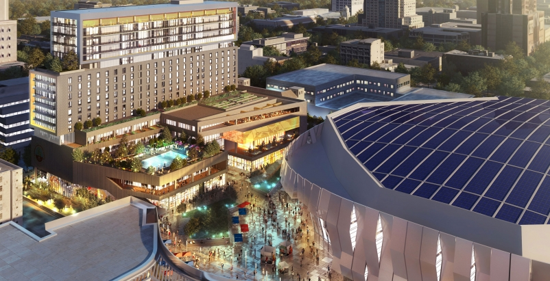 First Look: Sacramento Planning Commission approves mixed-use tower by the new Kings arena