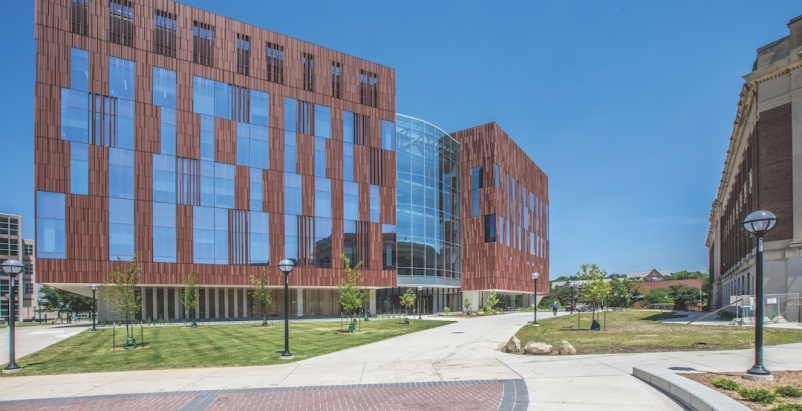 2019 University Giants Report, Biological Science Building at the University of Michigan, Ennead Architects and Barton Malow, 2019 Giants 300 Report