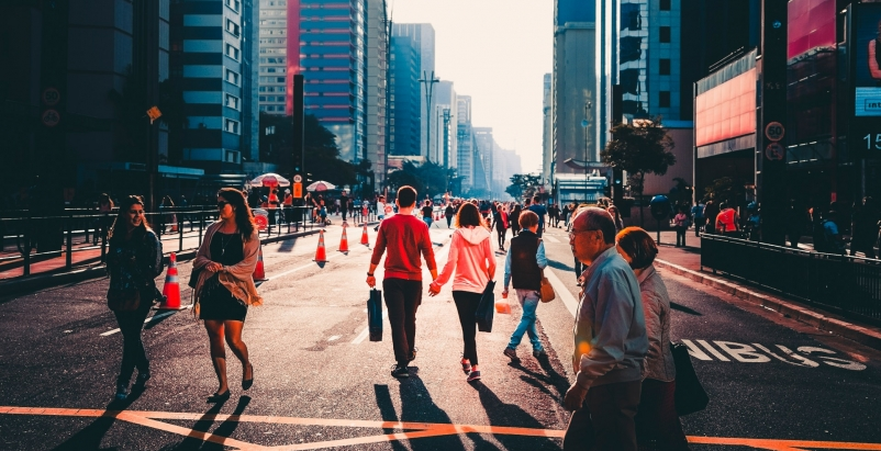 U.S. cities experience 'Doppler shift' in walkable urban development