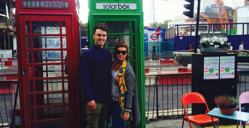 Solarbox London was founded by London School of Economics graduates Harold Crast