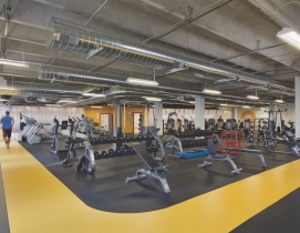 Gym and fitness center at 3form