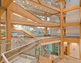 Centre for Interactive Research LEED Platinum CIRS