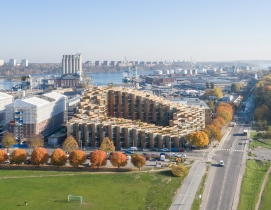 Aerial view of 76&Park