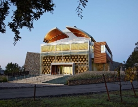 The Williams Selyem Winery in Sonoma County, Calif., won an honorable mention aw