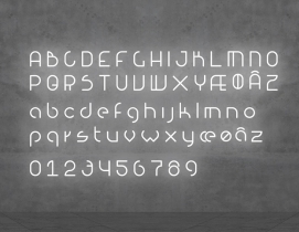 The full lineup of BIG and Artemide's Alphabet of Light