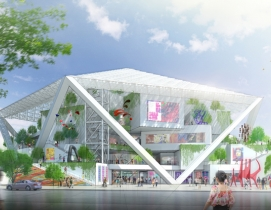 Renderings and photos courtesy of Shigeru Ban Architects