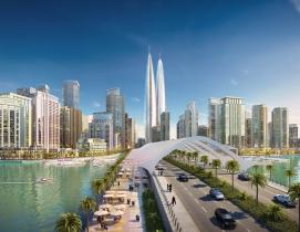 Dubai, High Rise, World's Tallest, Tower
