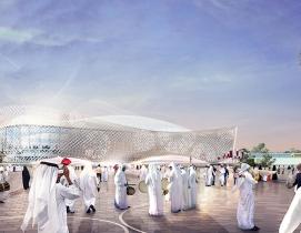 Qatar unveils fifth World Cup Stadium, Al Rayyan