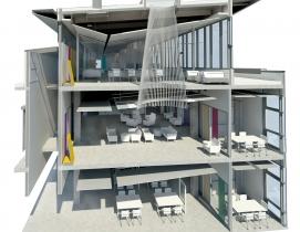 Section rendering courtesy SRG Partnership