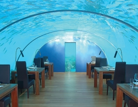 Underwater restaurant to open in the Maldives