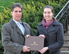 Lisa Vienckowski, a student enrolled in the Master of Engineering in Structural