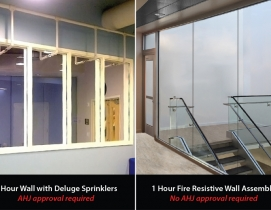 Is fire rated glass expensive? | Building Design + Construction
