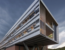 National Renewable Energy Laboratory, Golden, Colo., designed by SmithGroupJJR. Photo: Bill Timmerman